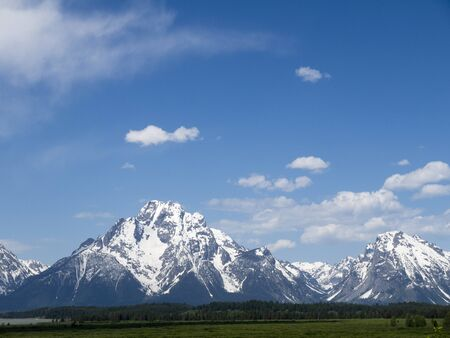Grand Teton National Park is a United States National Park located in northwestern Wyoming, photo