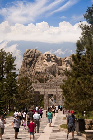 Mount Rushmore in South Dakota USA