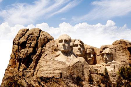 mount jefferson: Mount Rushmore in South Dakota USA Editorial