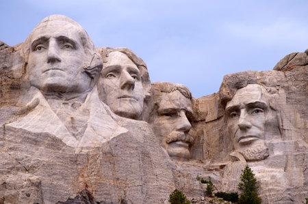 south dakota: Mount Rushmore in South Dakota USA Editorial