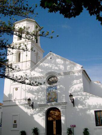 Parish Church in Nerja Andalucia Spain Stock Photo - 14809442
