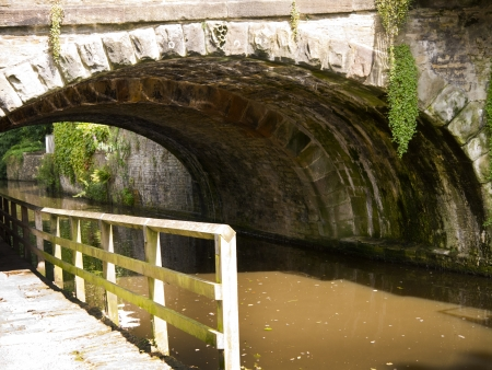 Leeds Liverpool Canal at Skipton North Yorkshire photo
