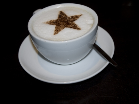 wharfedale: Cup of Capuccino Coffee