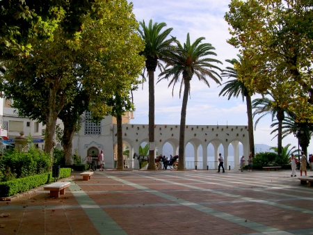Balcon de Europa in Nerja Andalucia Spain