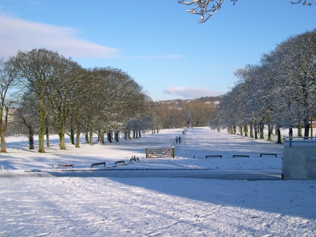 Towneley Hall in Winter Situated half a mile south-east of Burnley, Lancashire, it lies within a 284 acre park and for over six centuries it was the residential home of the Towneley family, who lived there from the 13th century to 1902           photo