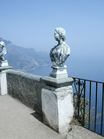 sirens: Terrace of Infinity at Ravello Campania Southern Italy