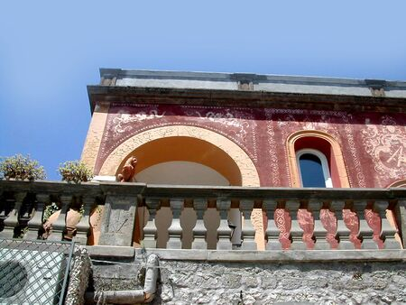 Pompeian Style Villa on the Isle of Capri Italy photo
