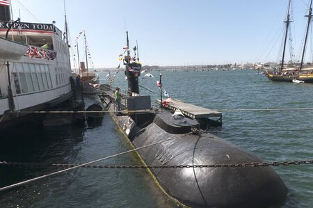 American Submarine in San Diego California