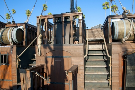 Pirate Ship in San Diego California photo