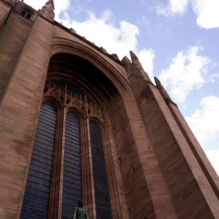 Liverpool Anglican Cathedral in the City of Liverpool England Stock Photo - 15664237