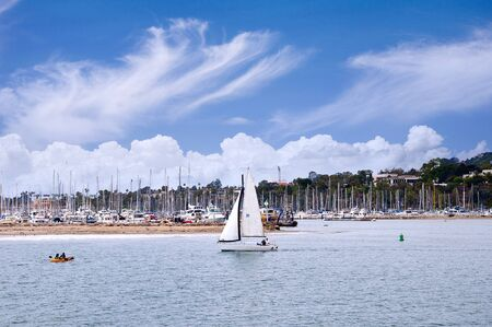 Marina at Santa Barbara California USA photo