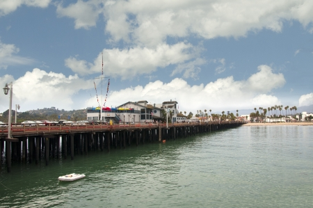 Pier at Santa Barbara California USA
