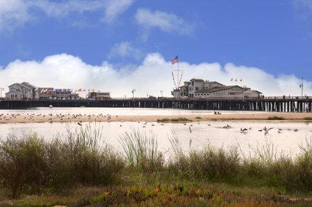 Beach at Santa Barbara California USA