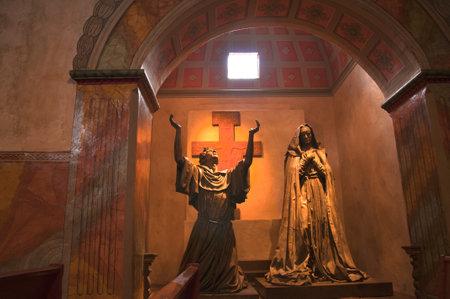santa barbara: Spanish Mission at Santa Barbara California USA