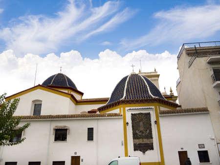 Church in Benidorm Costa Blanca Spain Europe Stock Photo - 16497595