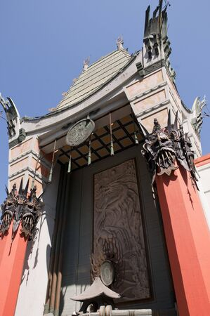 Chinese Theatre in Hollywood California USA photo