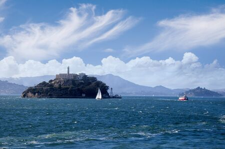 Alcatraz Prison Island San Francisco California USA