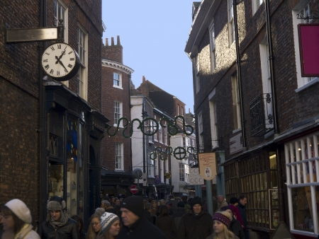shambles: Building in the Shambles Area of York England