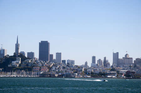 The city skyline of San Francisco California USA photo