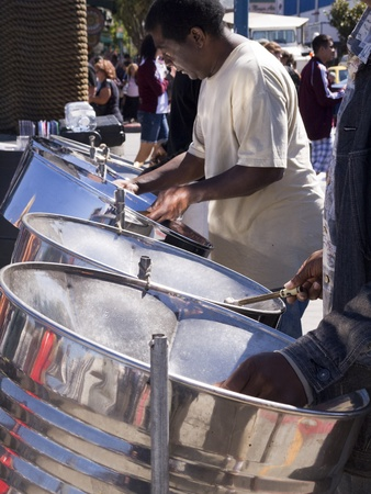 Steel Band on Fishermans Wharf San Francisco USA photo