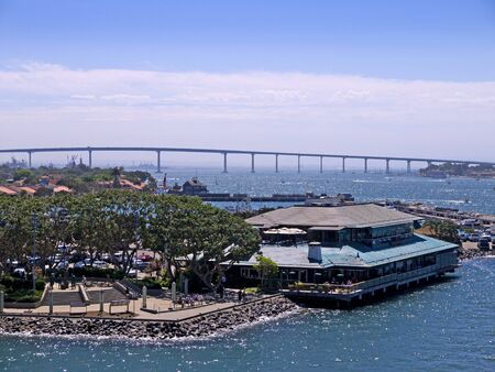 The Coronado Bridge in San Diego California USA