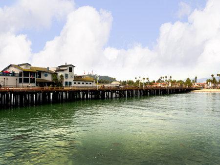 Pier at Santa Barbara California USA
