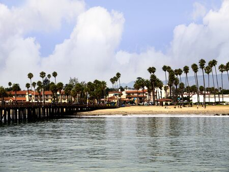 Beach at Santa Barbara California USA