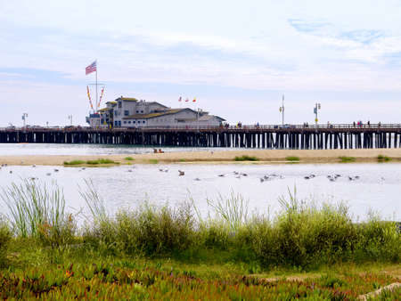 Pier at Santa Barbara California USA Stock Photo - 16978505
