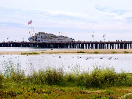 Pier at Santa Barbara California USA Stock Photo - 16978505