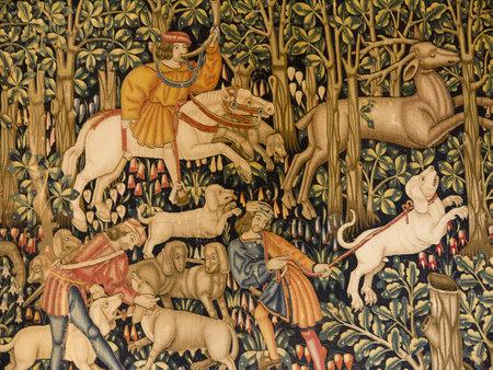 14th: Copia de la tapicer�a del siglo 14