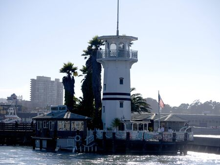 Forbes Island at Fishermans Wharf San Francisco USA