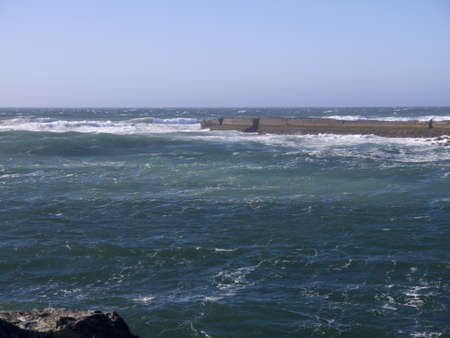 capes:  the Coast of Oregon Near Coos Bay USA Stock Photo