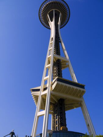 Space Needle tower in Seattle Washington USA Stock Photo - 17201906
