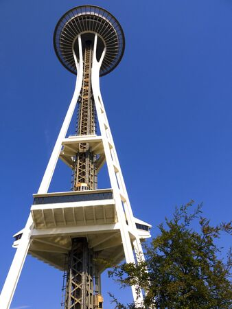 Space Needle tower in Seattle Washington USA Stock Photo - 17201914