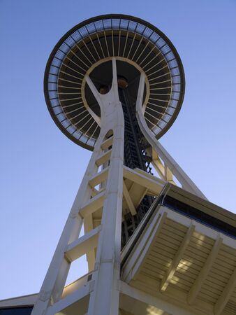 Space Needle tower in Seattle Washington USA Stock Photo - 17201910