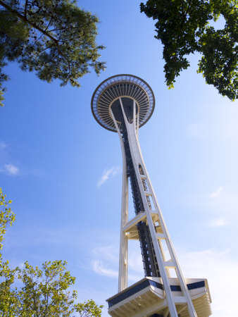Space Needle tower in Seattle Washington USA Stock Photo - 17201913