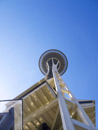 Space Needle tower in Seattle Washington USA Stock Photo - 17201907