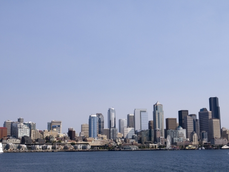 klondyke: The city skyline of Seattle Washington State USA