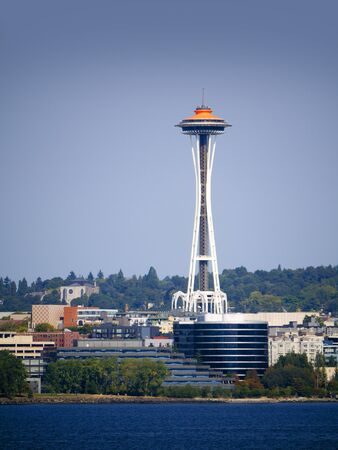 Space Needle tower in Seattle Washington USA Stock Photo - 17232829