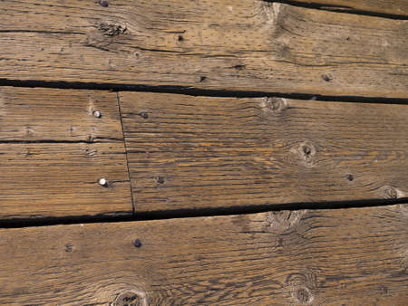 Wooden Deck in Seattle Washington photo