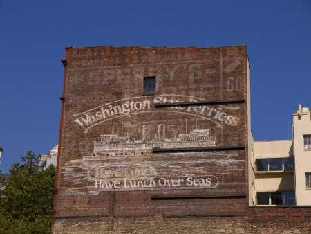 klondyke: Old Building in Seattle Washington USA Editorial
