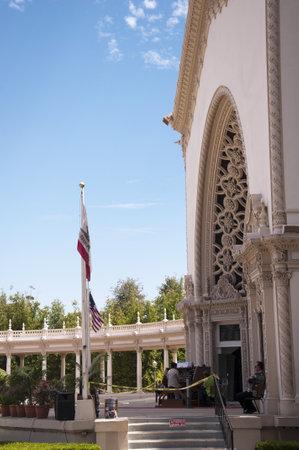 pipe organ: Enormous Outdoor Pipe Organ in Balboa Park San Deigo California USA