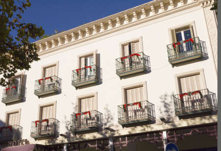 Hotel Facade In Nerja Andalucia Spain Stock Photo - 17269839