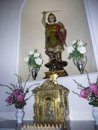 Parish Church of San Salvatore in Nerja Andalucia Spain Stock Photo - 17307748