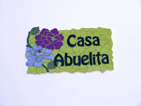 House sign in Spain Stock Photo - 17346834