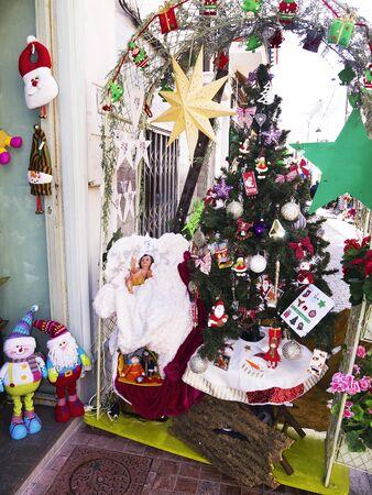 Christmas crib in Nerja Andalucia Spain Stock Photo - 17346850