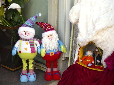 nerja: La decoraci�n de Navidad en Nerja Andalucia Espa�a Foto de archivo