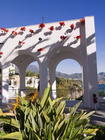 Balcon de Europa in Nerja Andalucia Spain photo