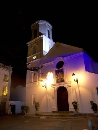 church in Nerja Andalucia Spain photo
