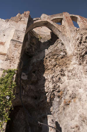 Defensive walls in Frigiliana Spain Stock Photo - 17561711